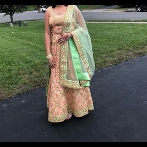 Indian Traditional Dress - Lehenga
